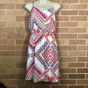 Everly Dress Size Large Boho Print Anthropologie